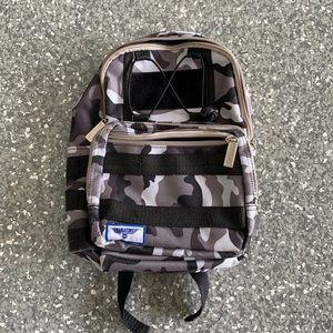 Babiators black camo mini kids backpack
